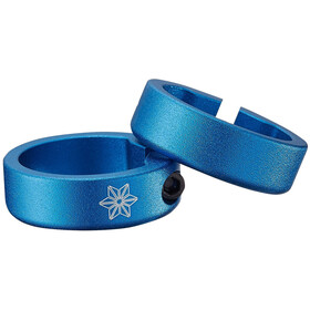 Supacaz Star Ringz - anodizado, 60 mm azul